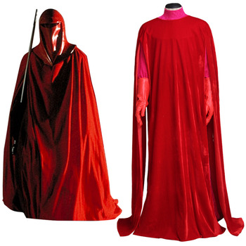 Star Wars Cosplay Royal Guard Red Cosplay Costume Suit Adult Men's Halloween Carnival Cosplay Costume