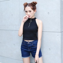 cff0be42cd382 Buy turtle neck crop and get free shipping on AliExpress.com