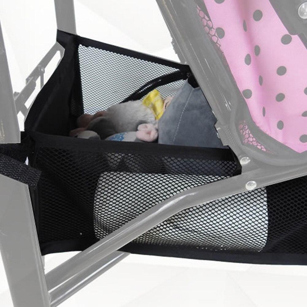 Коляска для новорожденных корзина для коляски Органайзер корзина для коляски креативная 2 размера Портативная сумка для подгузников