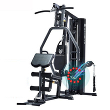 240204/Large multifunctional fitness equipment household combination single comprehensive training sports male instruments set