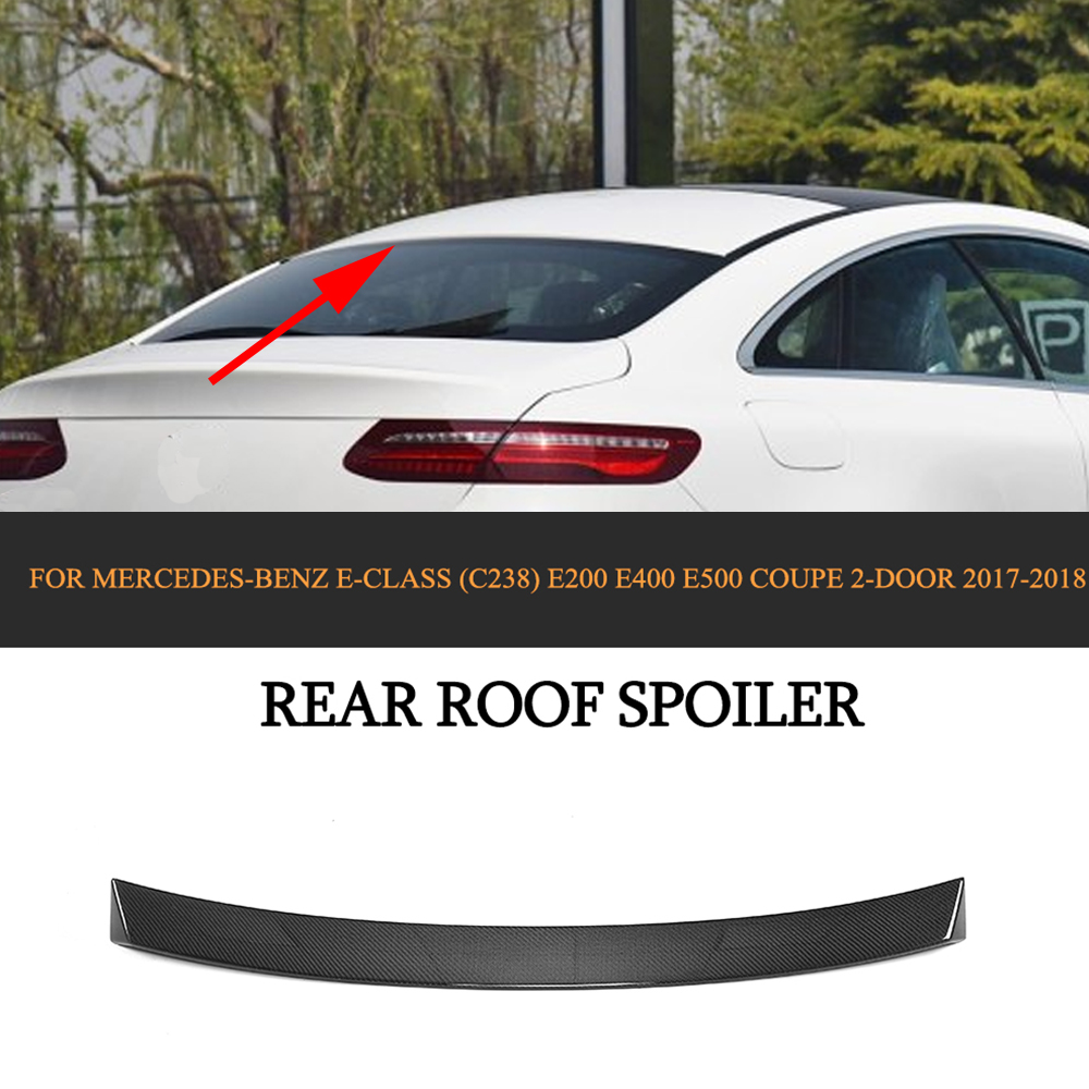 Rear Bumper Vents For Mercedes-Benz E200 E400 E500 Coupe 17-18 Carbon Fiber