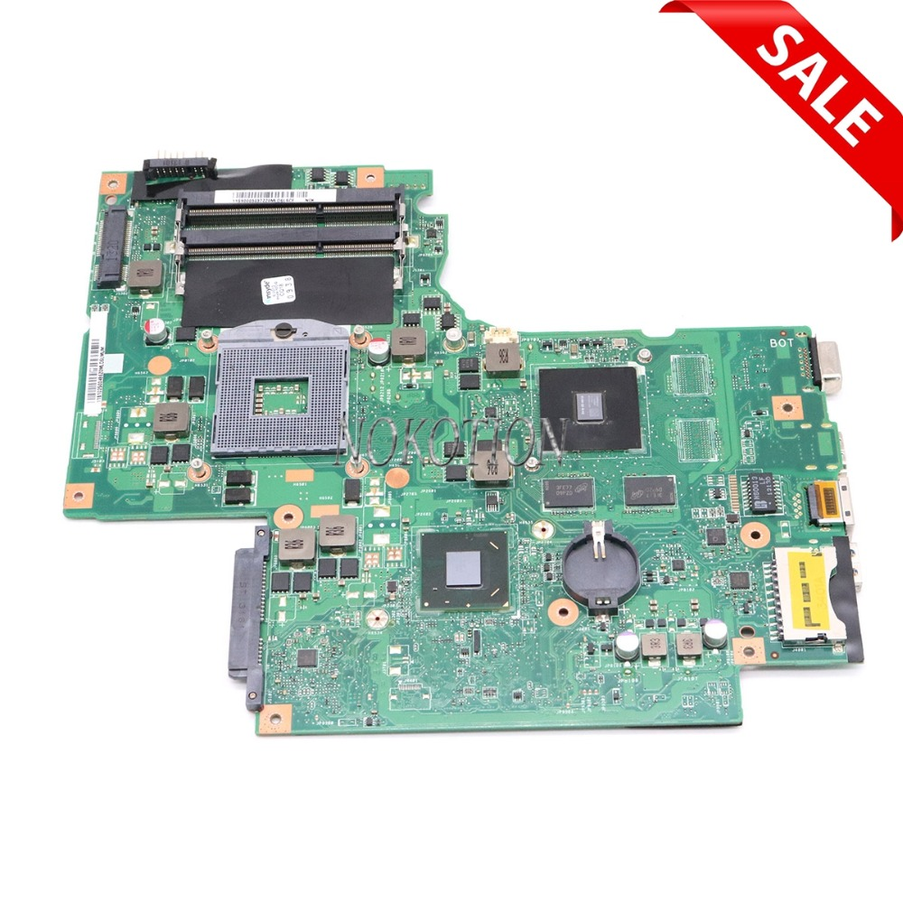 NOKOTION 11S90003037 BAMBI MAIN BOARD for lenovo ideapad G700 laptop motherboard GT720M SLJ8E DDR3 full tested nokotion 11s90003140 bambi main board rev 2 1 for lenovo ideapad g700 laptop motherboard 17 3 inch intel gma hd hm70
