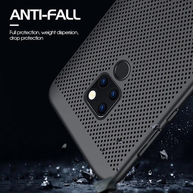 New Heat Dissipation Case For Huawei P30 Pro P20 Mate 20 Lite Y9 2019 Nova 4e 3e 3i P Smart Plus Cover For Dropshipping Coque 3