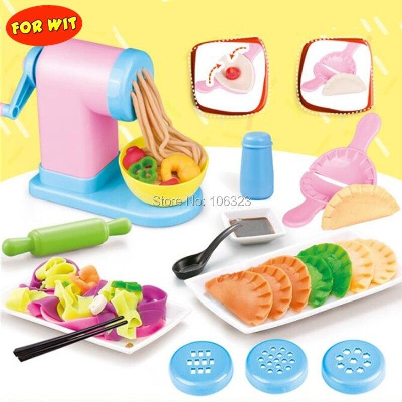novo molde de argila de cor 3d kit de ferramentas de modelagem de plasticina de cozinheiro