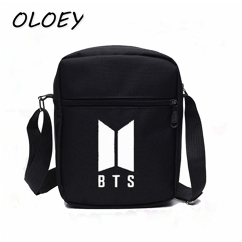 Bangtan Boys Army Crossbody Bags BTS Fans Oxford Cloth Bags Teenager ... b940f028876b7