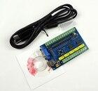 Обновление ЧПУ MACH3 USB 5-осевой 100 кГц USBCNC Плавный шаговый контроллер движения Выносная плата  ✔