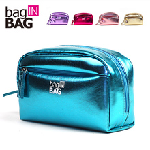 Vivid Cosmetic Bag Day Clutch Cosmetic Bag Large Capacity Women's Handbag Cosmetic Bags Maquiagem Feminina Maleta de Maquiagem