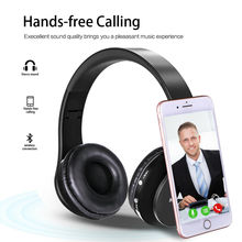 цена на X-DRAGON Foldable Wireless Bluetooth Headphone Stereo Headset Earphone w/Mic for Phone