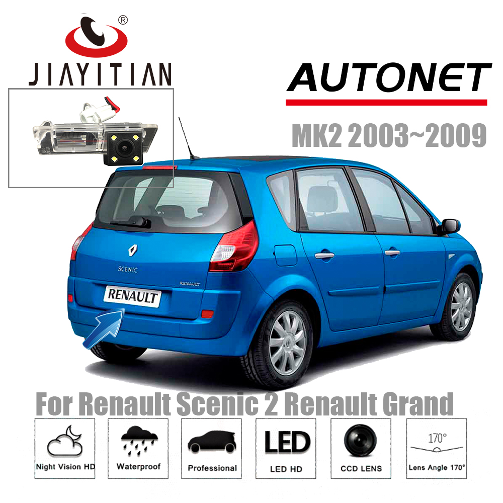 jiayitian rear camera for renault scenic 2 ii renault grand scenic 2003 2009 backup camera night. Black Bedroom Furniture Sets. Home Design Ideas