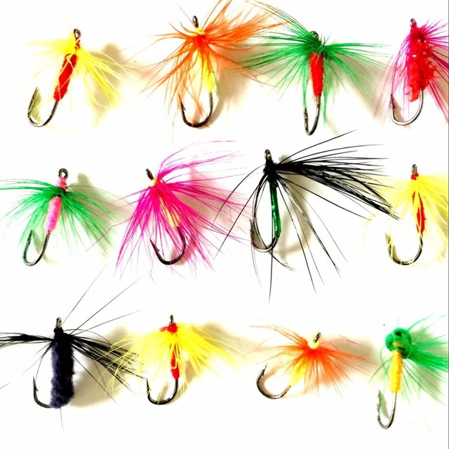 12pcs fly fishing flies tying for on accessories led cm wet dry patterns tube carbon fiber material riverruns realistic nymphes