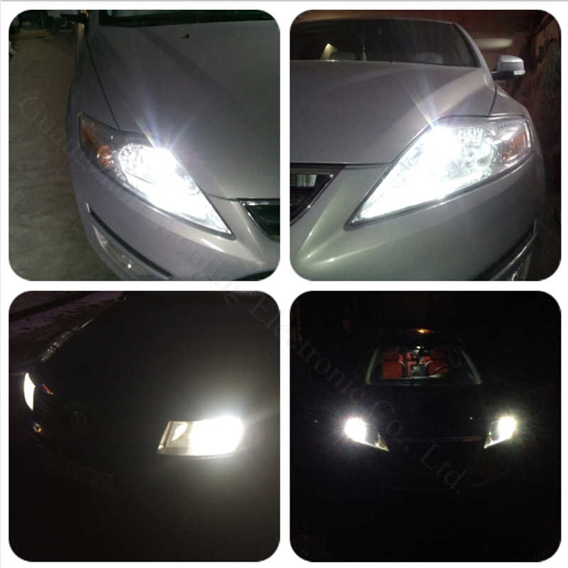 Wljh 2x CANBUS LED T10 W5W Clearance Parkir Mobil LED Lampu untuk Audi A2 A4 8L 8 P B5 B6 a6 4B 4F A8 D2 TT C5 C6 C7 S2 S4 Q3 Q5 Q7
