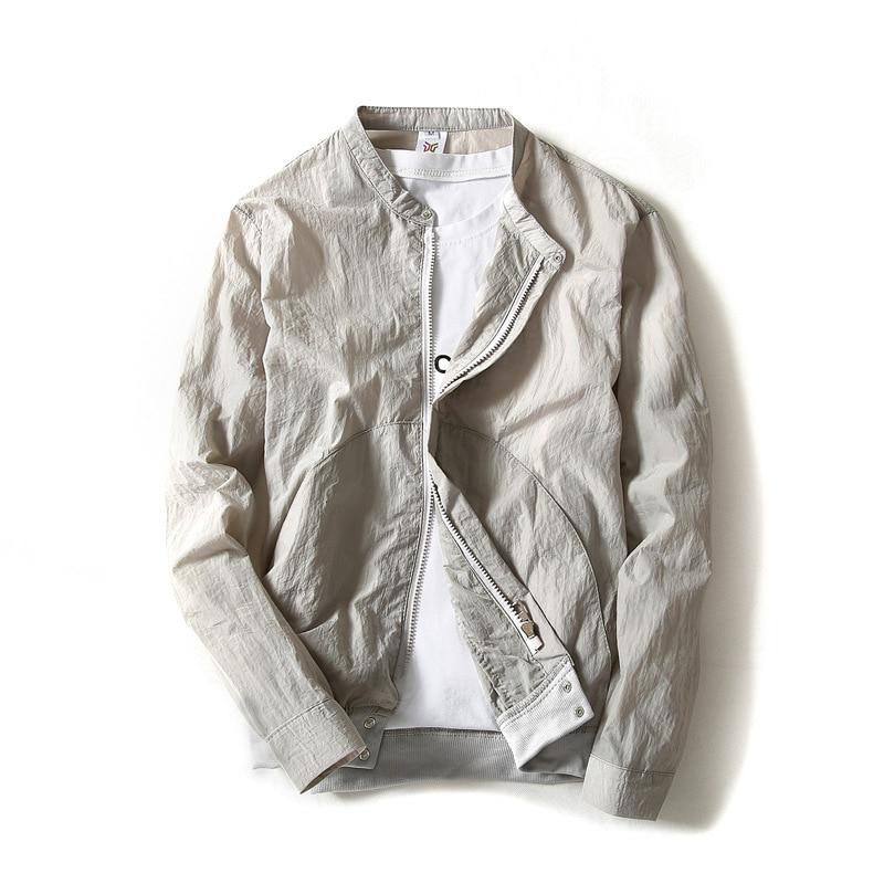 Summer Jacket Spring Mens Reflective Thin Hooded Jacket Fashion Men Sun Protection Coat Windbreaker Baseball Outerwear