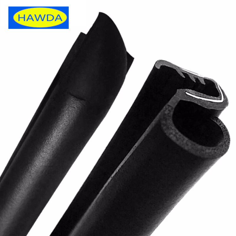 2x80cm B Pillar Noise Insulation Dustproof Seal Strip Trim