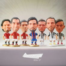 """Wholesale 100pcs/lot Football basketball Player Star 2.5"""" Figurine (Mixed Order) Dolls Toy Figure"""