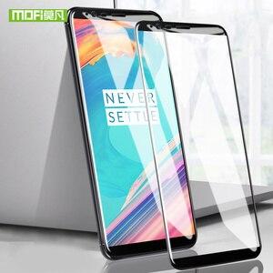 Image 1 - Mofi voor oneplus 5 t glas film voor een plus 5 t glas screen protector voor oneplus 5 t gehard glas volledige cover 9 H 6.0 inches