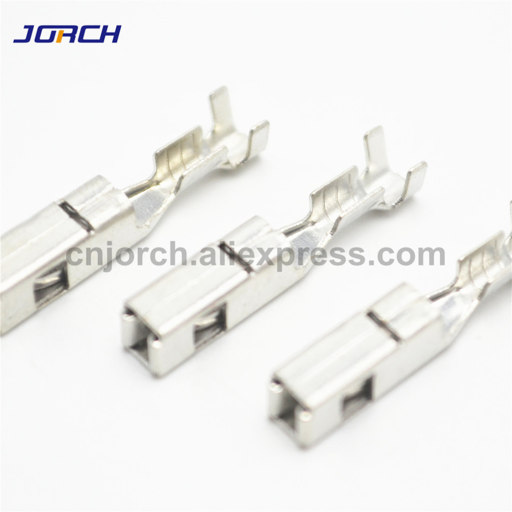 100Pcs Crimping Terminal Contacts FCI Big Pins 2.8 Series G342 For Automotive Connector 211PC249S8005