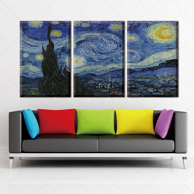 Leinwand Malerei Wohnkultur wandkunst wohnzimmer Kein Rahmen ...