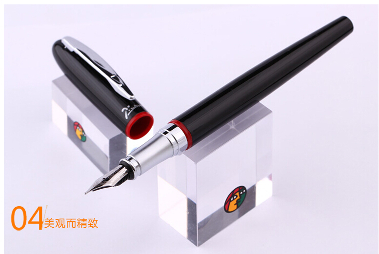 Free Shipping Pimio Picasso Fountain Pen PS-907 Iridium Fountain Pen Calligraphy Fountain Student Pen 0.5mm Wholesales pimio picasso fountain pen ps 926 ink pen