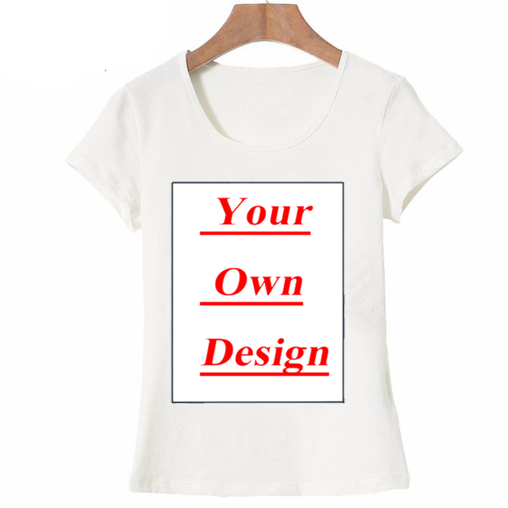 4876b08699 Unique Customized Women's T shirt Print Your Own Design Casual Tops girl  tees animal cartoon lovers