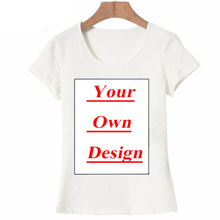 AMEITTE Unique Customized Women s T shirt Print Your Own Design Casual Tops  girl tees 06e74958a5a8
