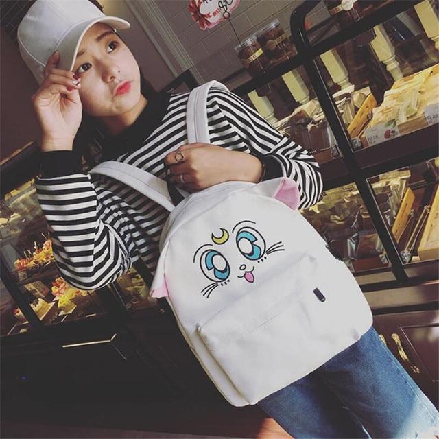 Аниме рюкзак с ушками Сейлор Мун 2