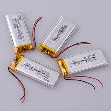 Литий-полимерная батарея 3,7 в 402050 042050 Замена 382250 P Taipower MP3 X19 500 мАч китайский рекордер Замена регистратора