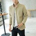 2017 Hitz thin section collar jacket men Slim Korean version of the trend of men's casual solid color coat explosion models