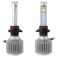 Auto Front Fog Light All-in-one Conversion Kit Cold White Led 9006 6000K X7 LED Headlight Bulbs Car Headlight Heat Sink Design