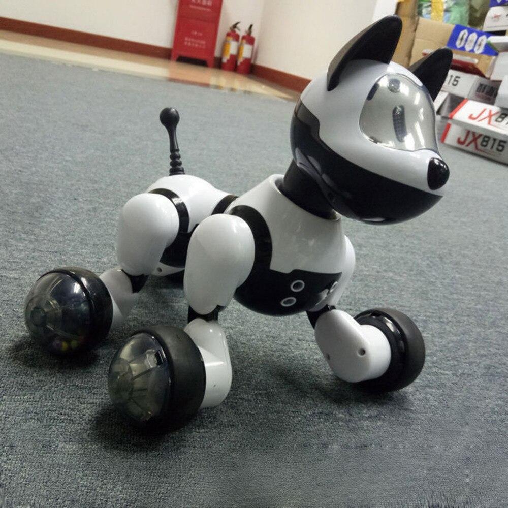 Commande vocale Électronique Pet Chien Chat Robot Intelligent Interactif De Danse Chanter Marche Chiot D'action avec Captation du geste Jouets Kid Cadeau - 6