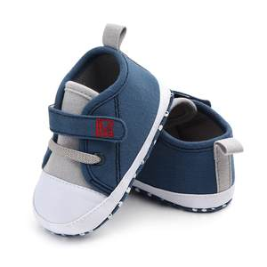 Baby Shoes First-Walkers Canvas Soft-Sole Toddler Girls Boys Cute Letter