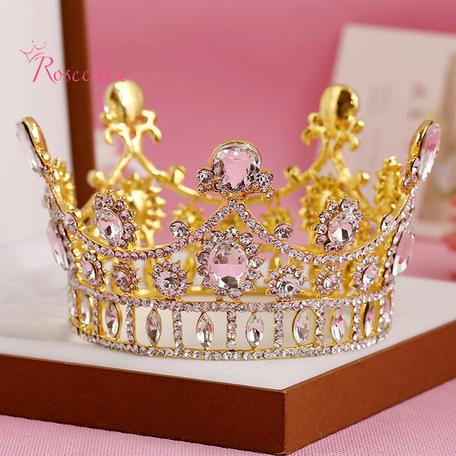 Europe Style Original Handmade Rhinestone Bridal Tiaras and Crowns High-quality Simulated Diamond Jewelry For Novias RE296