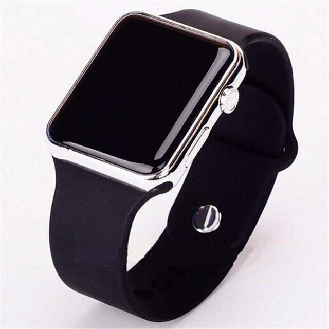 2018 relogio feminino LED Bracelet Digital Watches For Men Women Child Clock Arm