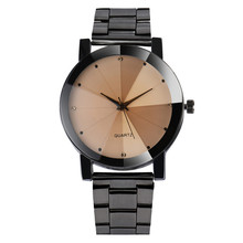 Hot SellingFashion Women Crystal Stainless Steel Analog Quartz Wrist Watch Bracelet elogio masculino feminino gift Nov29