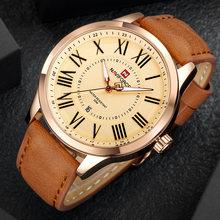 Naviforce модные брендовые мужские часы лучший бренд Роскошные
