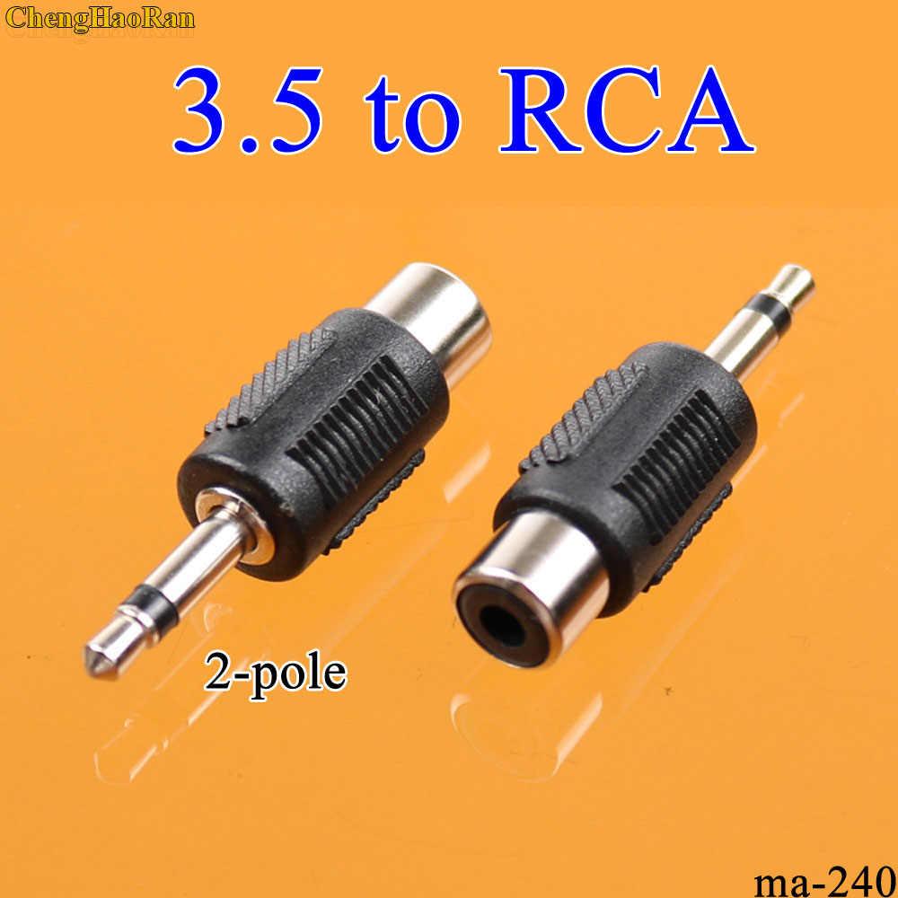 ChengHaoRan 9 rodzajów 3.5mm mężczyzn do 2 RCA Audio przejściówka do komputera głośnik słuchawki słuchawki Stereo Splitter złącze