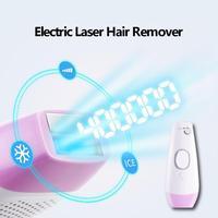 400000 Вспышка 5 режимов Перманентный IPL Электрический лазерный эпилятор для удаления волос подмышек/рук/ног безболезненный резьбы эпилятор