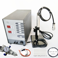 Stainless Steel Spot Laser Welding Machine Automatic Numerical Control Touch Pulse Argon Arc Welder for Soldering Jewelry tools