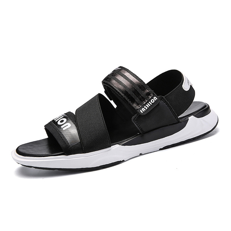2018 Mens Outdoor Summer Beach Shoes Quick Dry Sandals Light Weight Water Shoes Color Black White For Men Free Shipping JP2007