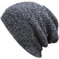 Hat Female Men Women Knitted Woolly Oversized Slouch Beanie Hat Cap Mens Ladies Skateboard Pop Winter Hats Beanies