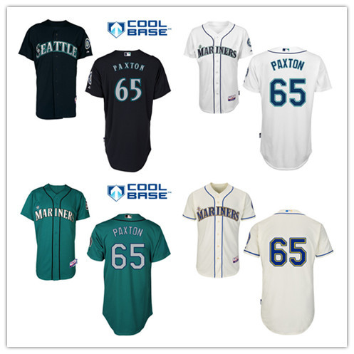 premium selection bfd5f f2426 65 james paxton jersey Seattle Mariners jerseys authentic ...