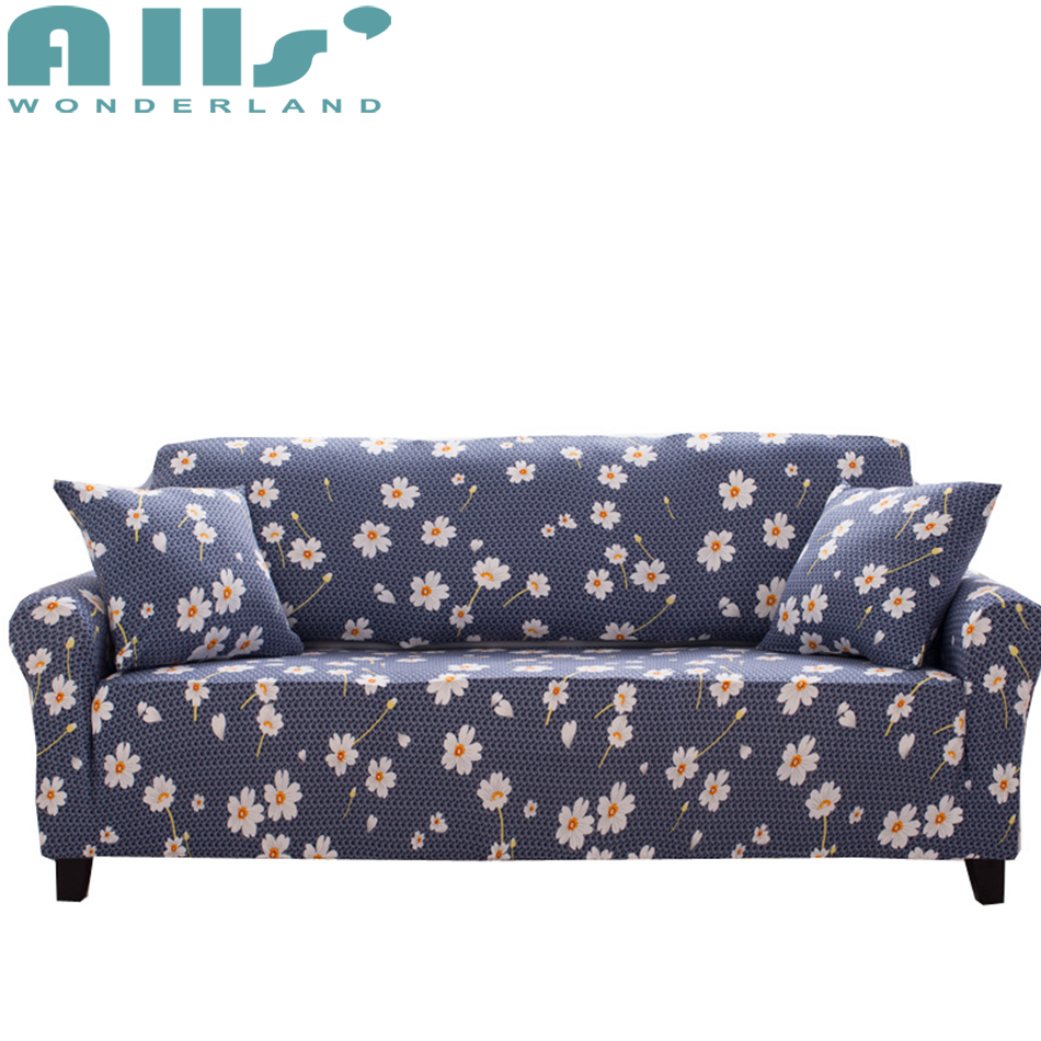 Fresh Designer Sofa Cover Small Flower Print Corner Sofa Cover Elastic  Slipcover Cover For Sofa Soft Sanding Fabric For 1 4 Seat In Sofa Cover  From Home ...
