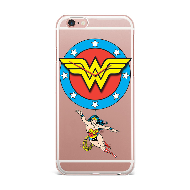 Phone Cases DC Comics Wonder Woman Clear TPU Cover For Iphone X 8 ...