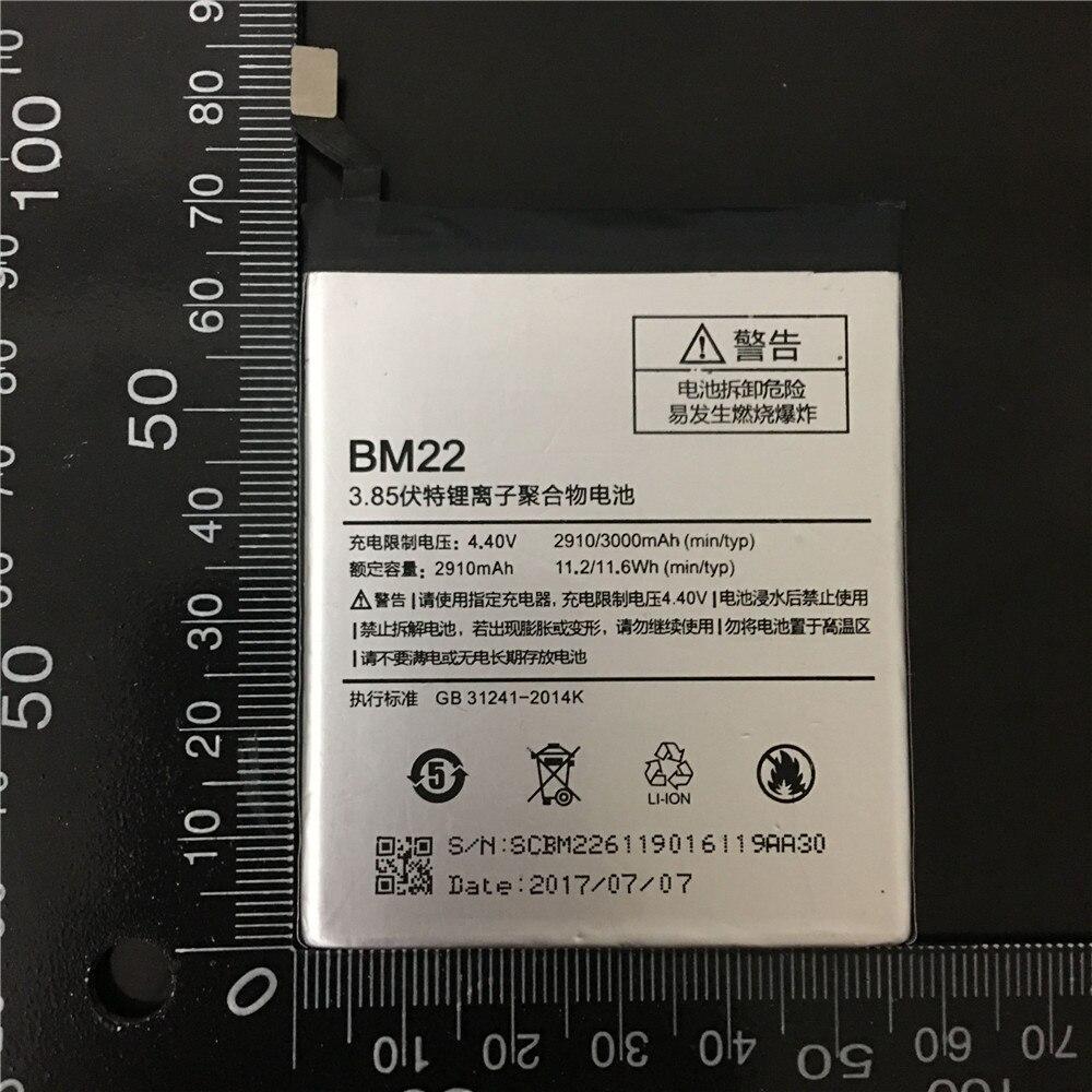 BM22 Hot sale High Capacity 3000mah Mobile Phone BM22 Battery For Xiaomi 5 M5 Mi5 MI 5 Battery