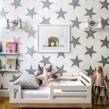 Stars Pattern Wall Sticker Baby Nursery Children Decals DIY Decorating Vinyl Art Hot Sale Free Shipping