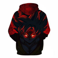 Cosplay Naruto Dragon Ball Saiyan 3D printed sweater hooded jacket Sweatshirt baseball uniform adult men/women costumes