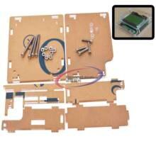 Carcasa acrílica para condensador de Inductor medidor ESR MG328 M328 probador de Transistor multifunción