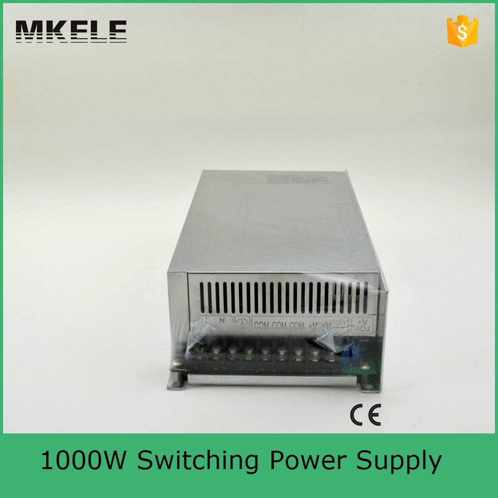 ФОТО Big Watt 1000W 48V 20A Single Output Switching power supply for LED Strip light AC-DC S-1000-48