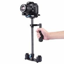 PULUZ S60T Professional Portable Carbon Fiber Mini Handheld font b Camera b font font b Stabilizer