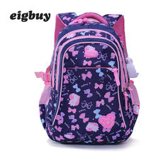 Kids School Backpack Bags Children Backpacks For Teenagers Girls Lightweight Waterproof Child Orthopedics