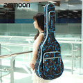 "High Quality 41"" Guitar Bag 600D Water-resistant Oxford Cloth Gig Bag Guitar Carrying Case Camouflage Blue Ajustable Strap"